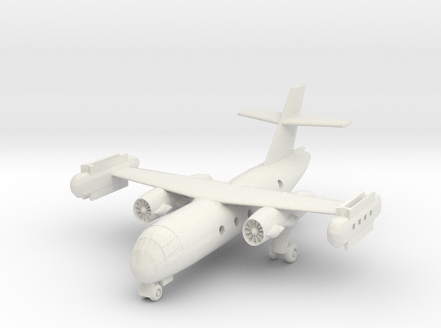 1/200 Dornier Do 31 on the Ground in White Natural Versatile Plastic