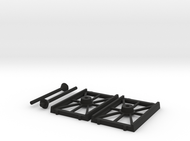 Bases Cheap 2 Shuttle in Black Natural Versatile Plastic
