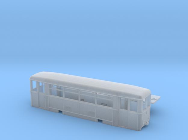 Aufbaubeiwagen (Werdauer BW) Spur H0m (1:87) 3d printed