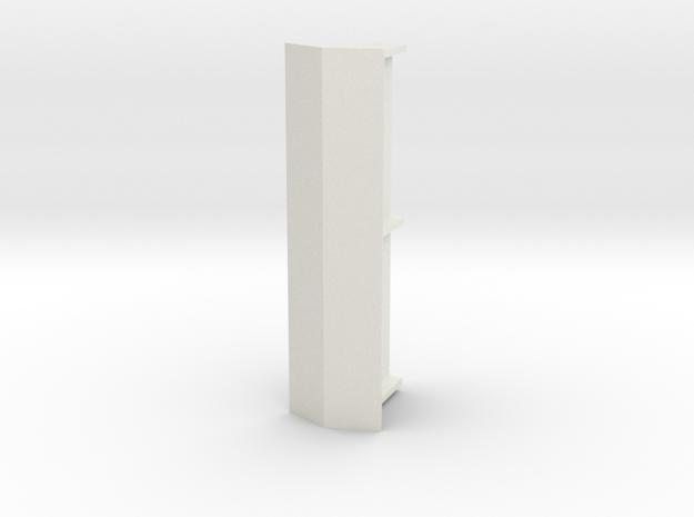 ABRI, sierbeton, dubbel, schaal 1:87 in White Natural Versatile Plastic