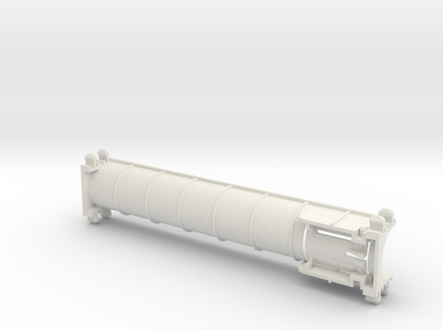 Rokenbok Straight Chute in White Natural Versatile Plastic