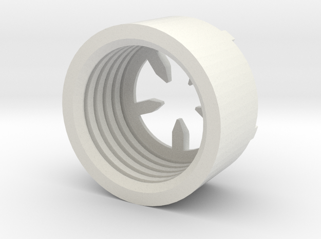 MBPI-B11-PEN in White Natural Versatile Plastic
