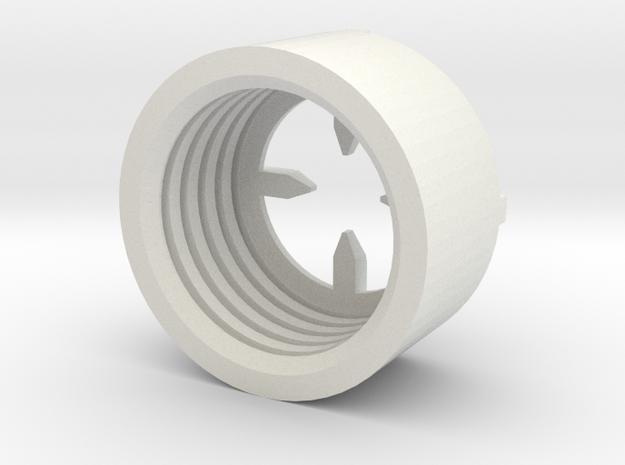MBPI-B11-QUA in White Natural Versatile Plastic