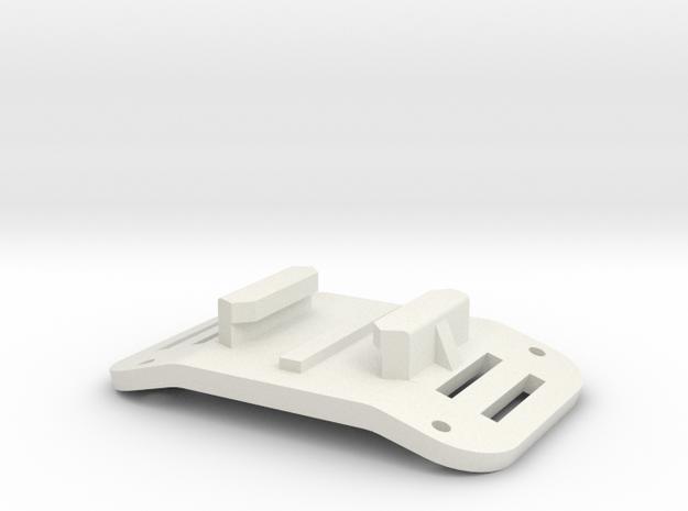 GoPro Mount Airplane Fuse in White Natural Versatile Plastic