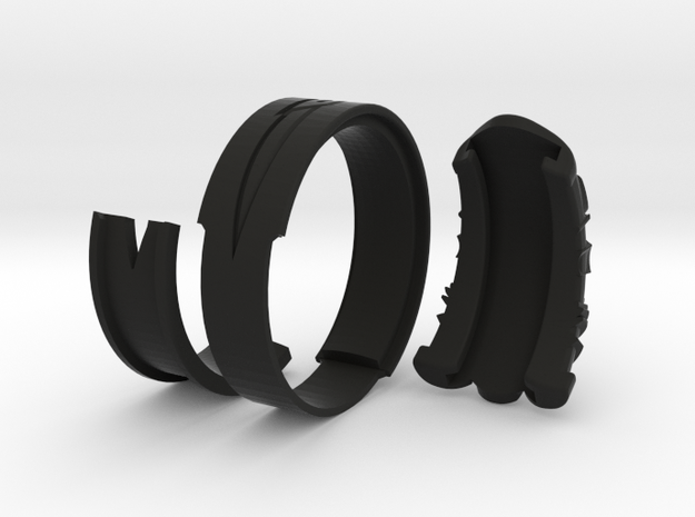 Vambrace Ring 11.5 in Black Strong & Flexible
