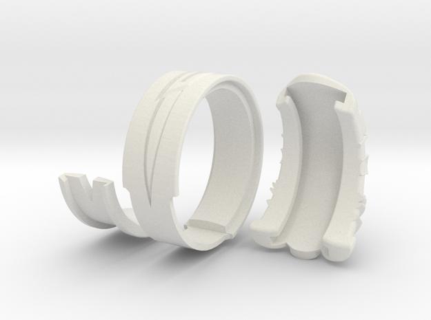 Vambrace Ring 7.5 3d printed