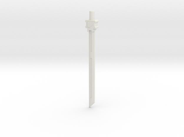 Kreo Kreon Prime Sword in White Natural Versatile Plastic
