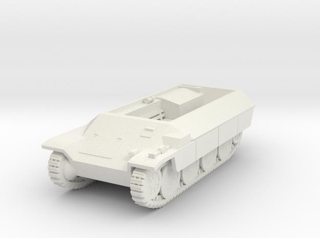 Vehicle- Katzchen APC (1/87th) in White Natural Versatile Plastic