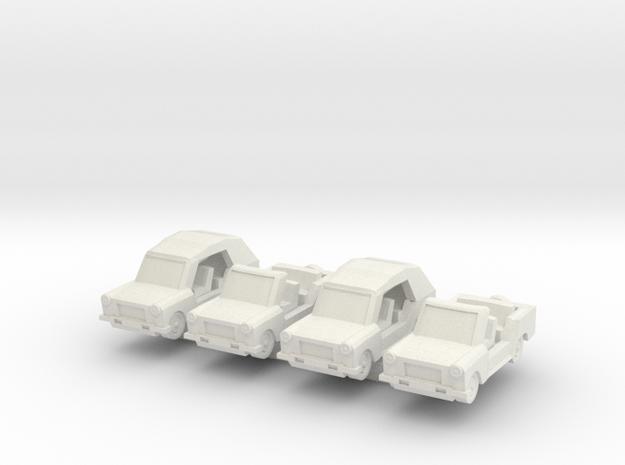 1/200 Trabant Kuebel 3d printed
