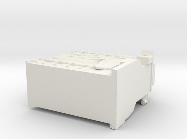 Cummins Engine Block Final 2 in White Natural Versatile Plastic
