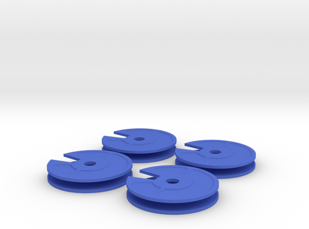 4x New Quarter Inch Dial 3d printed