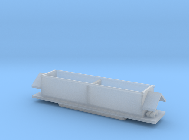 Weipa Railway (Australia) Hopper Z Scale (1:220) in Smooth Fine Detail Plastic