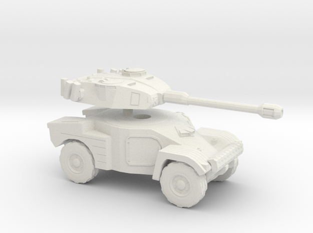 1:144 PANHARD AML90  in White Natural Versatile Plastic