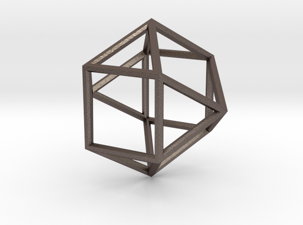 Cube Octohedron - 5cm 3d printed