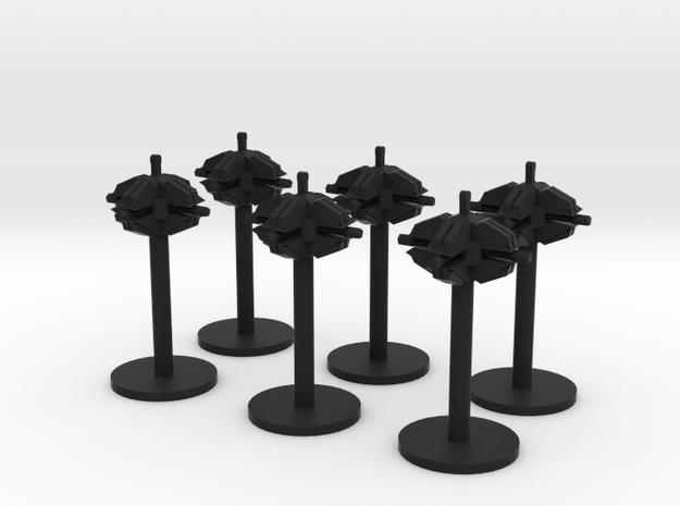 6x Mines 3d printed