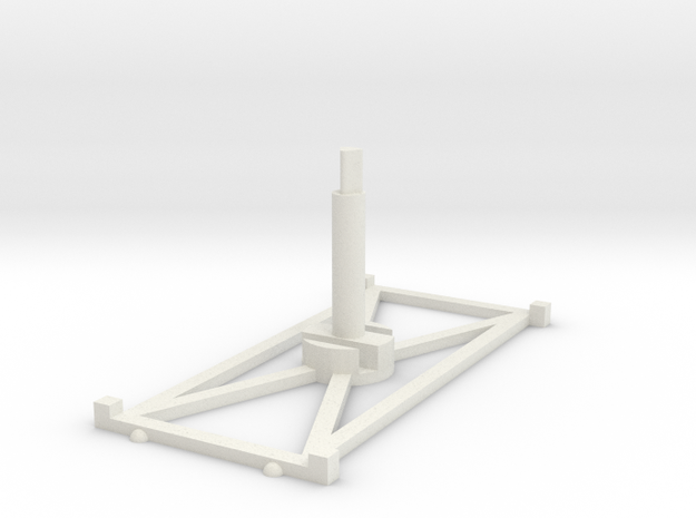 Stand Long x1 3.0 in White Natural Versatile Plastic