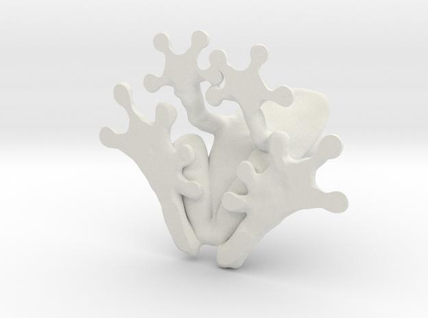 Tree Frog 125-30mm in White Natural Versatile Plastic