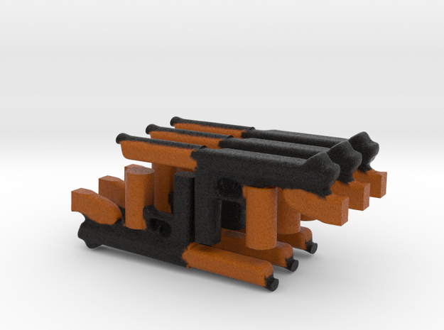 Thomson 6 gun machine US WWII 3d printed