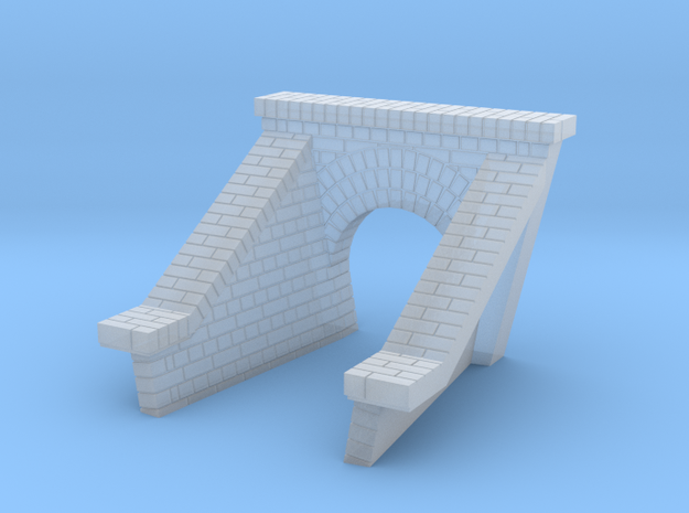 3 Foot Brick Culvert HO Scale  3 in Smooth Fine Detail Plastic