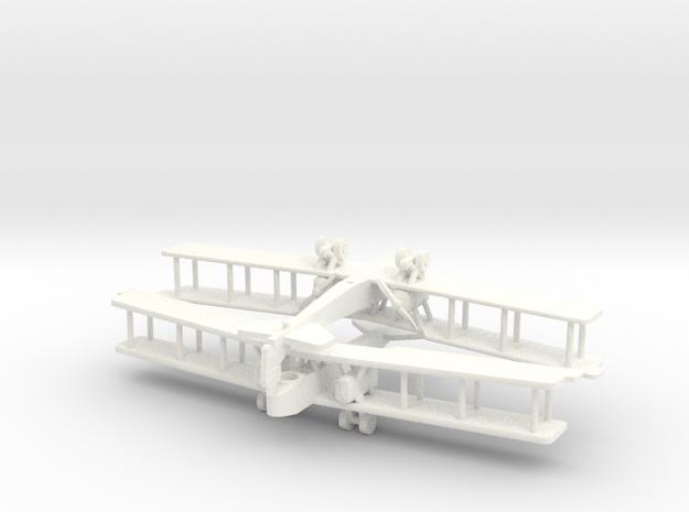 Aircraft- Gotha G.V Bomber- Pair (1/288th) 3d printed