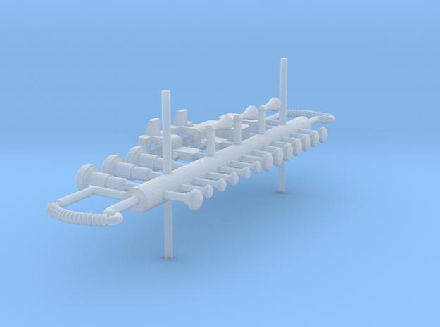 ZB (H0e) - D8/9 Ersatzteile in Smooth Fine Detail Plastic
