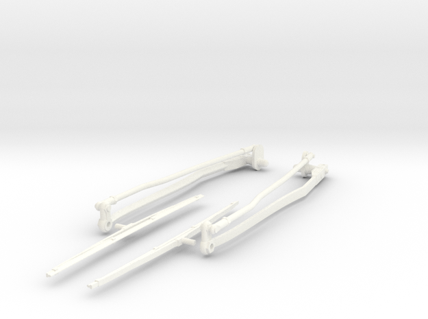 Airwolf Scale Wiper 50 Size in White Strong & Flexible Polished