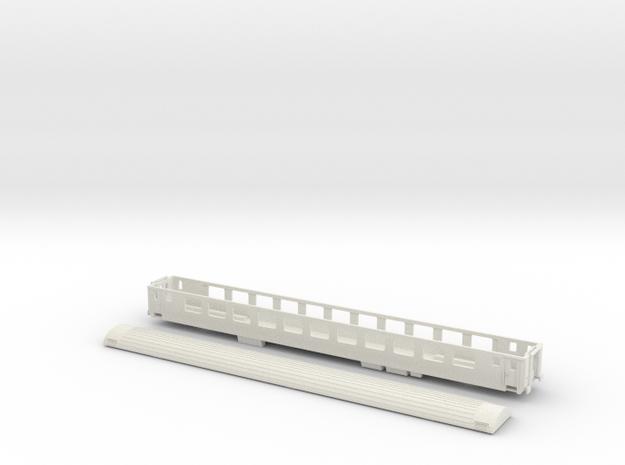SBB Bpm 51 - TT scale 3d printed