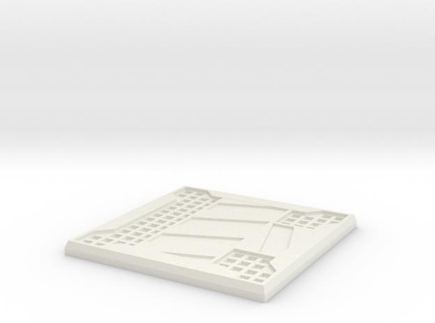Sci-fi Mesh Floor Hazard T 3d printed