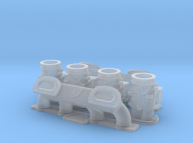 1 8 Ardun 2X4 Intake 3d printed