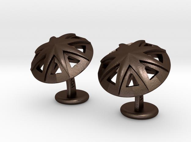 StarCufflinks 3d printed
