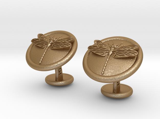 DragonflyCufflinks 3d printed