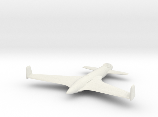 1/300 Henschel Hs P 87 in White Natural Versatile Plastic
