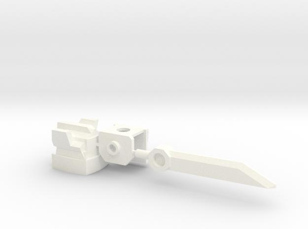 Samurai-bot Upgrade Set 3d printed