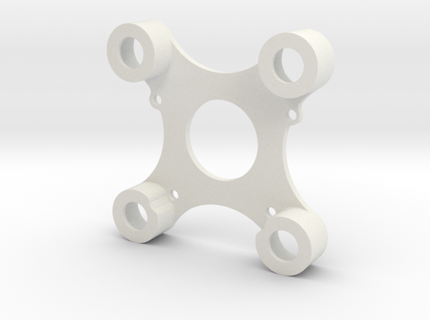 DJI Zenmuse H3-3D Adapterplatte / Adapter Plate To in White Natural Versatile Plastic