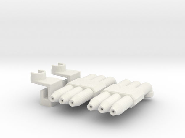 Hot Rod Pipes 3d printed