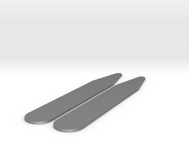 Shirt Collar Stays (pair) 3d printed