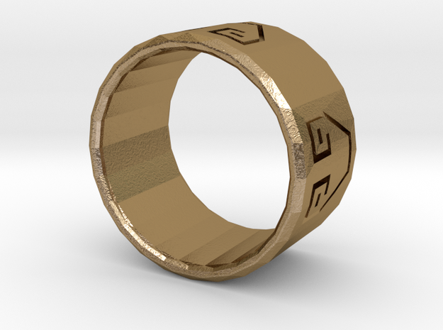 Earth Bender Ring 3d printed