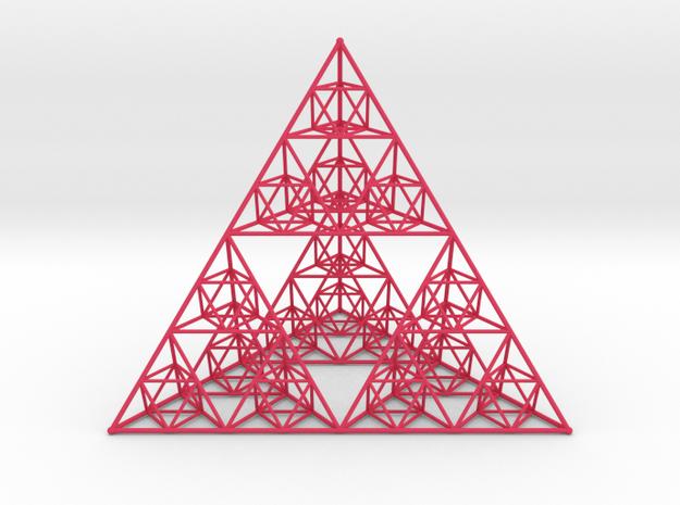 Tétraèdre de Sierpinski 3d printed