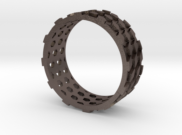 Parquet Deformation Ring (60mm) in Stainless Steel