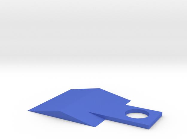 Scraper in Blue Processed Versatile Plastic