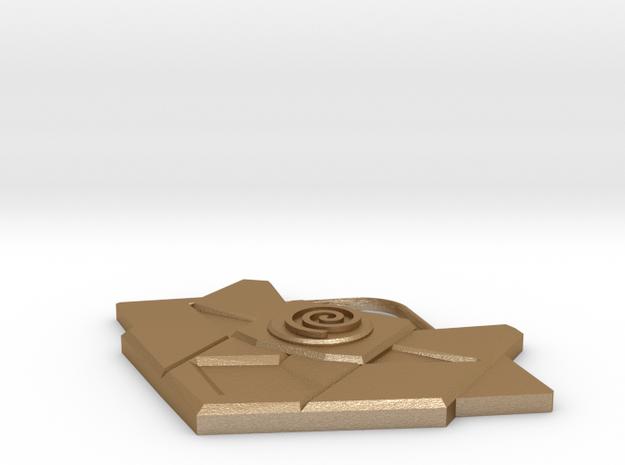 Atlantean Medallion of Nur Ab Sal 3d printed