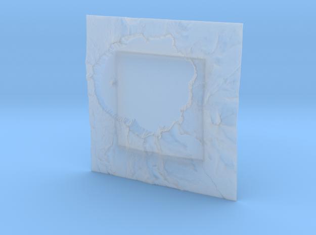 6'' Crater Lake, Oregon, USA 3d printed