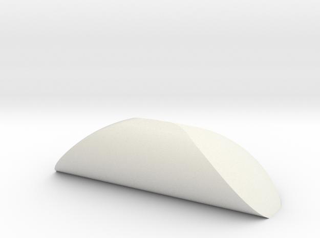 Monostatic Body in White Natural Versatile Plastic