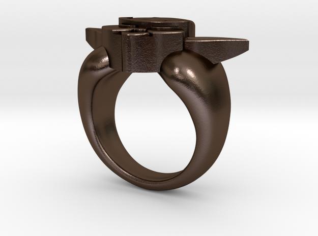 Yoda Ring 3d printed