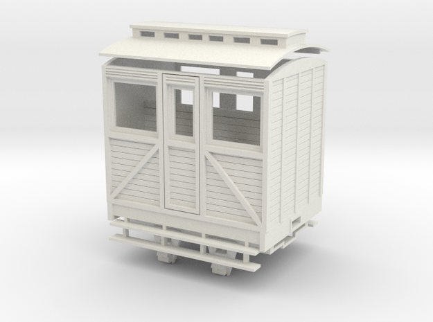 """On16.5 1st """"woody"""" coach 3d printed"""