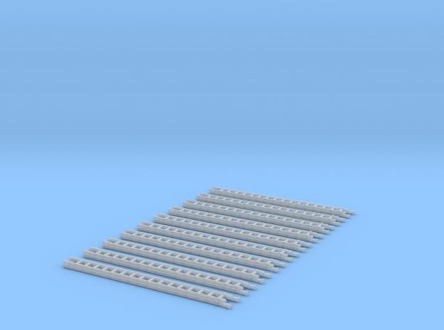 4052-ZS-87_2tlg Schiebleiter Aus Holz 10er Set in Smooth Fine Detail Plastic