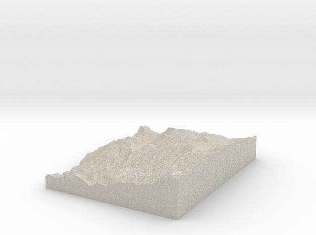 Model of Warnock Mine 3d printed