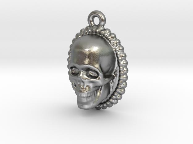 Skull Earring 3d printed