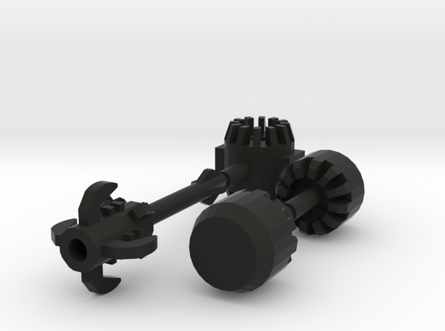 Buildable Mecha Mallet (Rf Edition) 3d printed