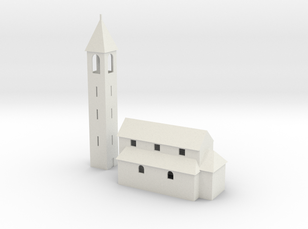 Kirche / church of San Nazzaro 3d printed
